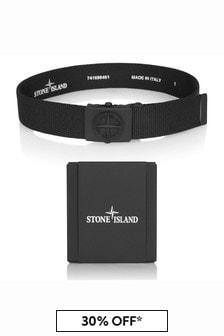 Stone Island Junior Boys Black Belt