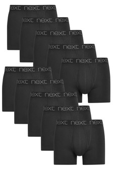 Black A-Fronts Ten Pack