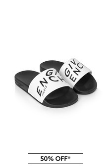 Givenchy Kids Boys White  Sandals