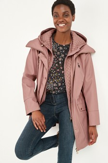 Pink Glam Rubber Rain Mac