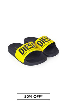 Diesel Boys Green Sandals