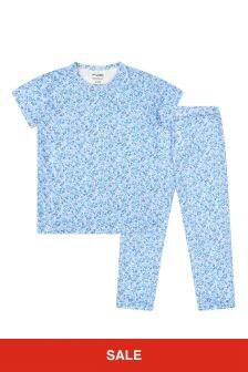 Bonpoint Boys Blue Cotton Pyjamas