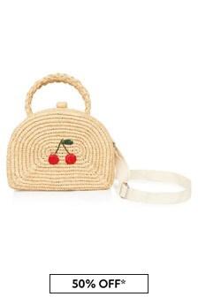 Bonpoint Girls Beige Bag