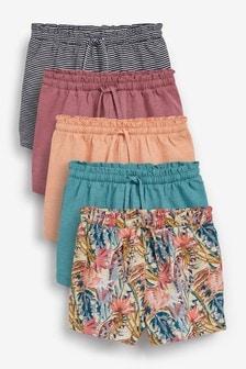 Tropical 5 Pack Shorts (3-16yrs)