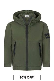 Stone Island Junior Boys Grey Jacket