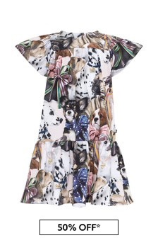 Molo Baby Girls Multicoloured Cotton Dress