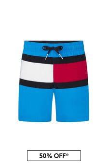 Tommy Hilfiger Blue Swim Shorts