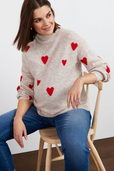 Mid Blue Maternity Mom Jeans