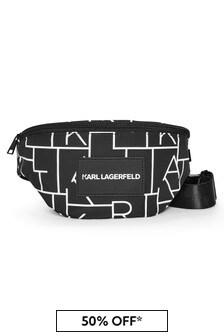 Karl Lagerfeld Kids Black Bag