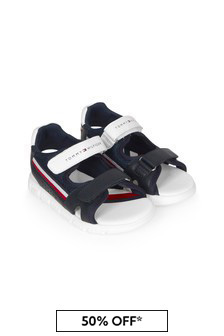 Tommy Hilfiger Boys Navy Sandals