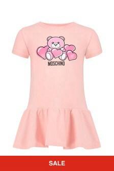 Moschino Kids Baby Girls Cotton Dress