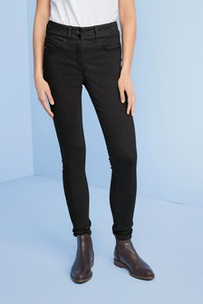 Black Lift, Slim And Shape Skinny Jeans
