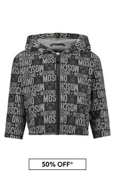 Moschino Kids Baby Black Jacket