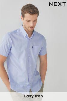 Pale Blue Easy Iron Button Down Oxford Shirt