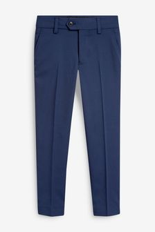 Navy Blue Suit Trousers (12mths-16yrs)