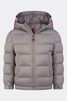 Moncler Enfant Boys Grey Down Padded Sorue Jacket