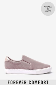 Pink Forever Comfort® Slip-On Trainers
