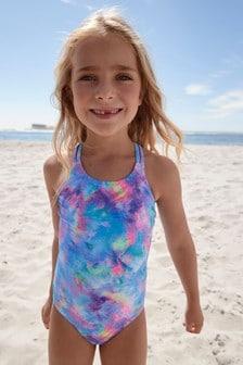 Blue Swimsuit (3-16yrs)