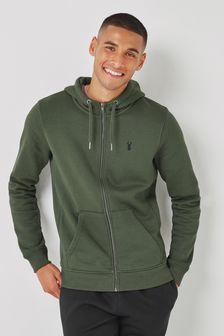 Khaki Green Jersey Top