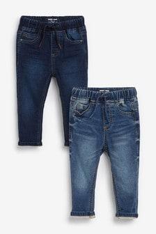 Denim 2 Pack Jogger Jeans (3mths-7yrs)
