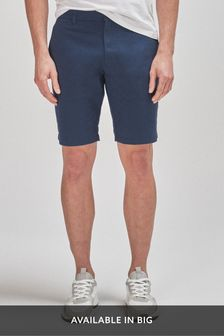 Royal Blue Stretch Chino Shorts