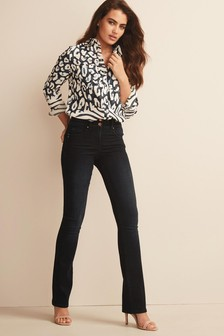 Inky Blue Lift, Slim And Shape Boot Cut Jeans