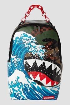 Sprayground Kids Camokawa Checkered Backpack