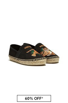 Kenzo Kids Black Shoes