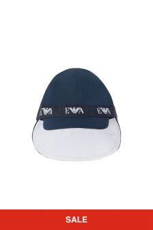 Emporio Armani Boys Navy Boys Hat