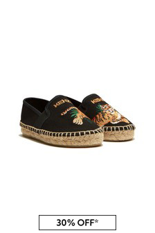 Kenzo Kids Black Shoes