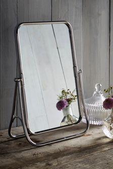 Chrome Pretty Vanity Mirror