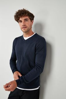 Navy Soft Touch Jumper