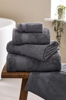 Charcoal Grey Charcoal Grey Egyptian Cotton Towels