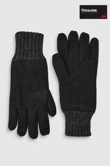 Black Thinsulate™ Gloves