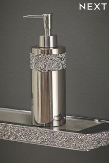 Silver Harper Gem Soap Dispenser