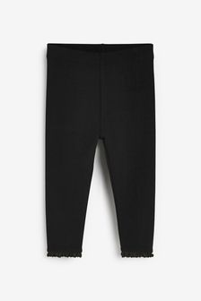 Black Basic Leggings (3mths-7yrs)
