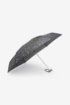 Grey Stars Umbrella