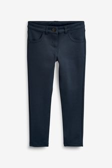Navy Jersey Skinny Trousers (3-17yrs)