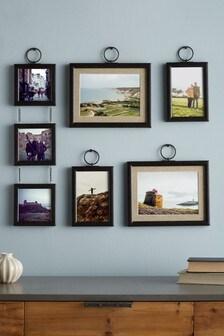 Black Set of 5 Hanging Salvage Frames