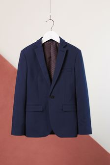 Navy Suit Jacket (12mths-16yrs)