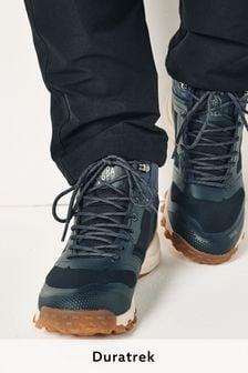 Navy Blue Duratrek Water Resistant Walking Boots