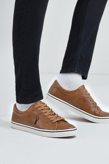 Tan Stag Trainers