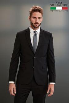 Black Signature Suit: Jacket