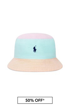 Ralph Lauren Kids Boys Multi Cotton Hat