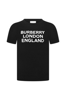 Burberry Kids Cotton Logo T-Shirt