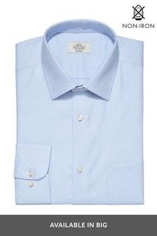 Blue Twill Non-Iron Shirt