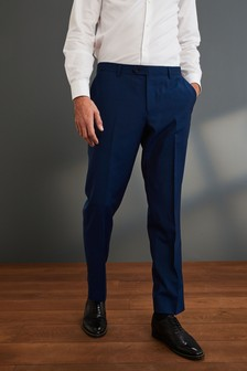 Bright Blue Signature Suit: Trousers