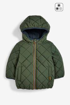 Khaki Green Padded Jacket (3mths-7yrs)