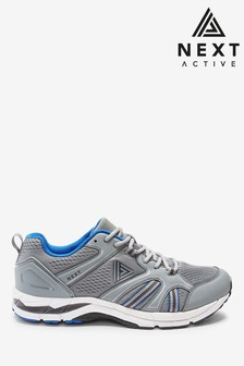 Grey V400M Active Running Trainers