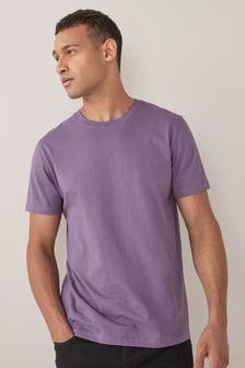 Lavender Crew Neck T-Shirt
